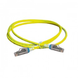 Patch Cord CAT6A 900mm Amarillo Blindado (F/Utp) Z-Max Siemon