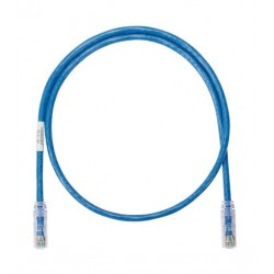 Patch Cord Cat6 0.9Mts (3Ft) Slim Azul Siemon