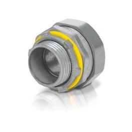 """Conector Recto Metálico 2-1/2"""" 75mm Liquid Tight"""