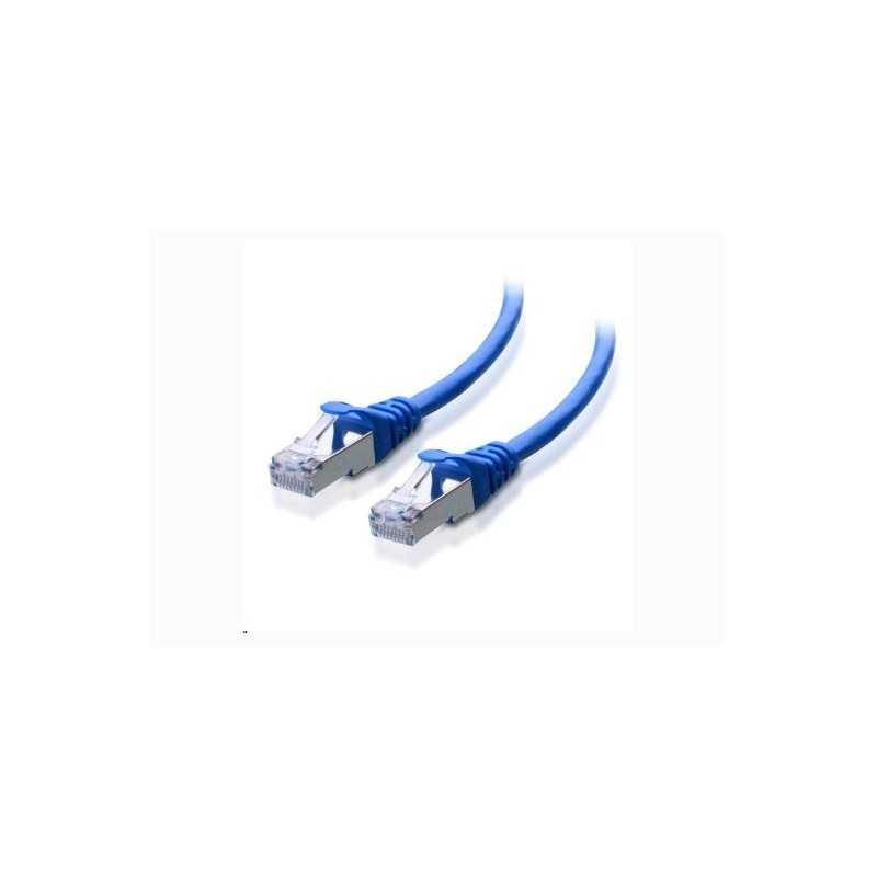 Patch Cord Blindado (F/Utp) Cat6A 2.1Mts (7Ft) Z-Max Azul (Bulk) Siemon