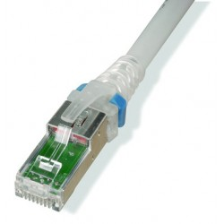 Patch Cord Blindado (F/Utp) Cat6A 0.9Mts (3Ft) Z-Max Blanco Siemon