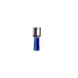 Terminal de Compresion Macho 14-16Awg Azul