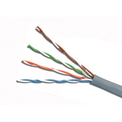 Cable UTP CAT6 4Px24Awg cm Gris - Siemon