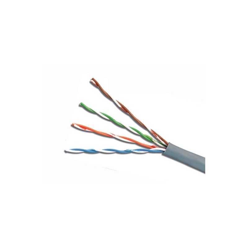 Cable UTP CAT6 4Px23Awg Gris Siemon