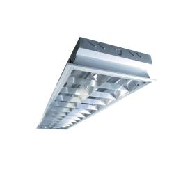 Equipo Alta Eficiencia Fluorescente 2X36W con Ballast Electrónico - Bm Electric