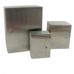 Caja Acero Inoxidable 1000x800x300 mm Ip65 con Placa-Bm Electric